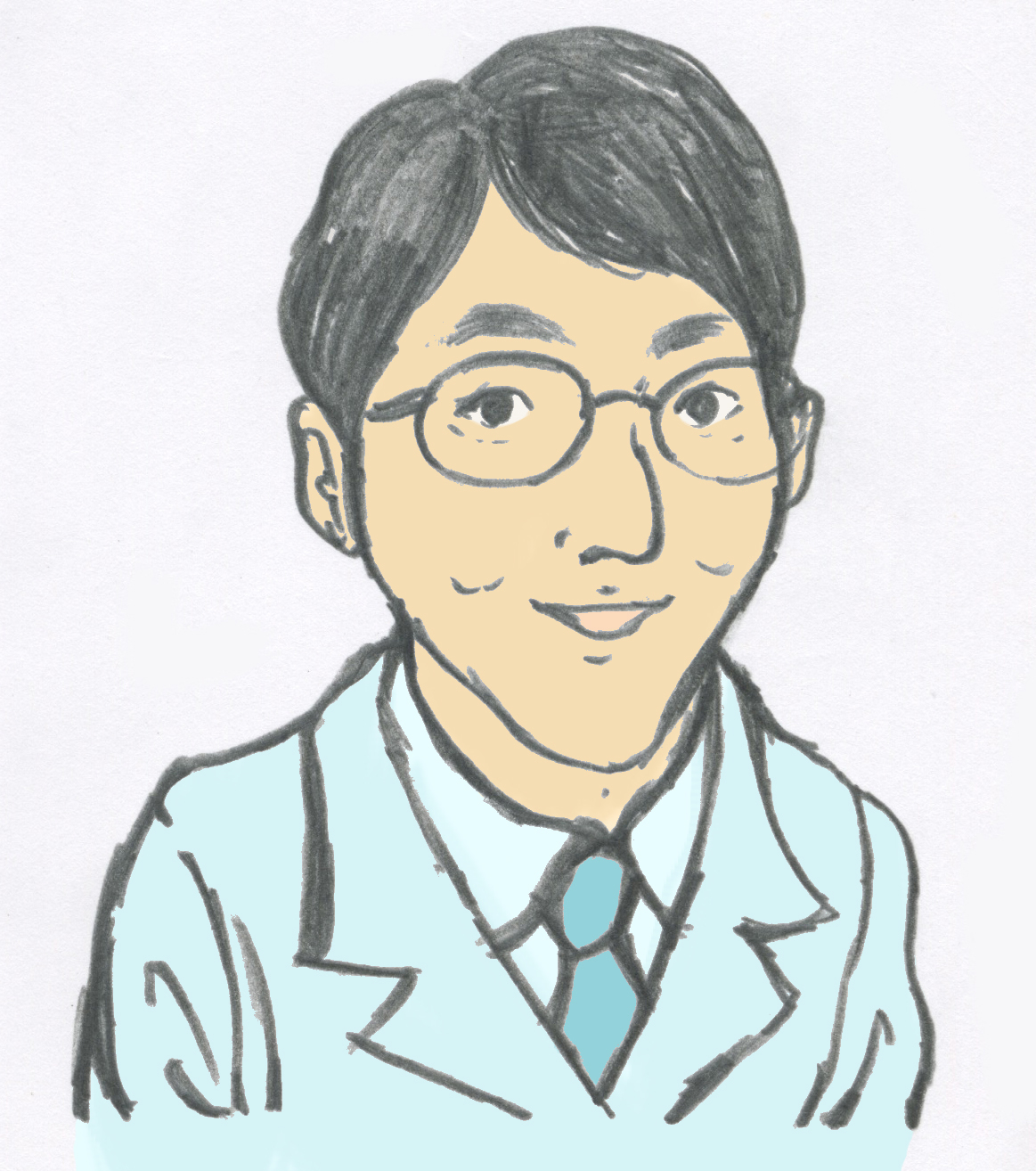 松本 剛史の似顔絵